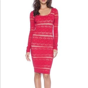 BCBG MAXAZRIA - Red Bodycon Dress